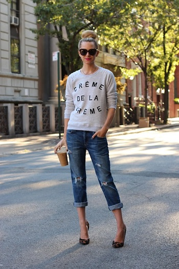 How To: Style Boyfriend Jeans