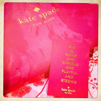 J'adore Kate Spade