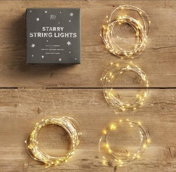 String Lights That Do Not Need To Be Plugged In : First Christmas {Decorating}