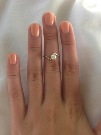 ~ Pearl Midi Ring ~