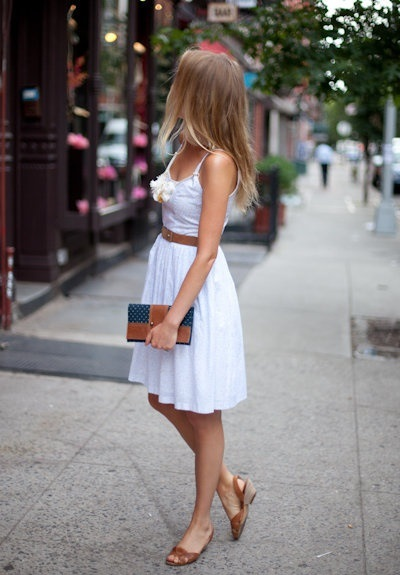 brunch white dress