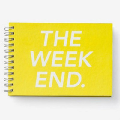 kate spade saturday the weekend notebook