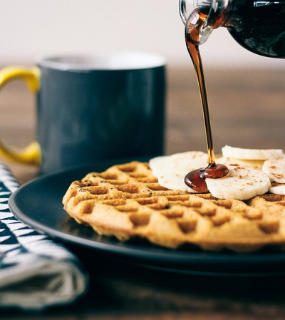 sunday morning waffles