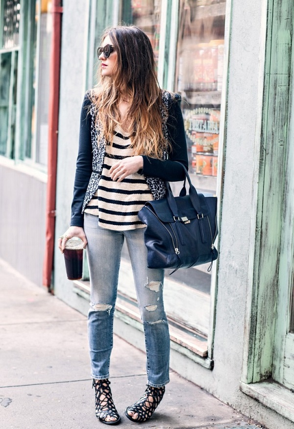 What To Wear: Distressed Boyfriend Denim