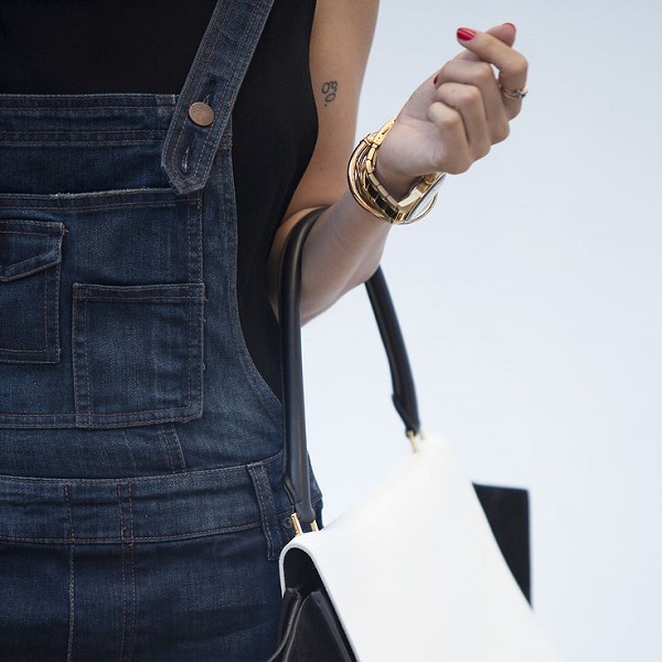 How To: Style Denim Overalls