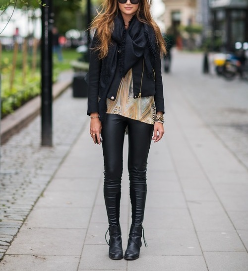 Fall Wish List: Leather Leggings
