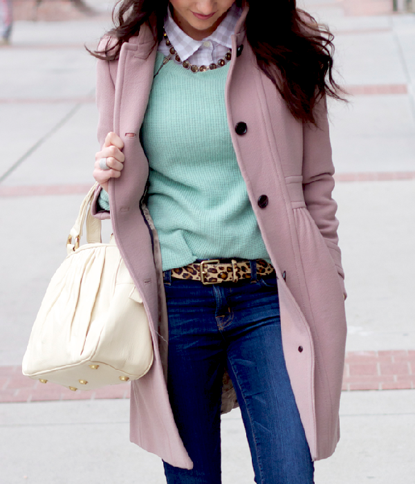 Cold Weather Layers in Soft Colors