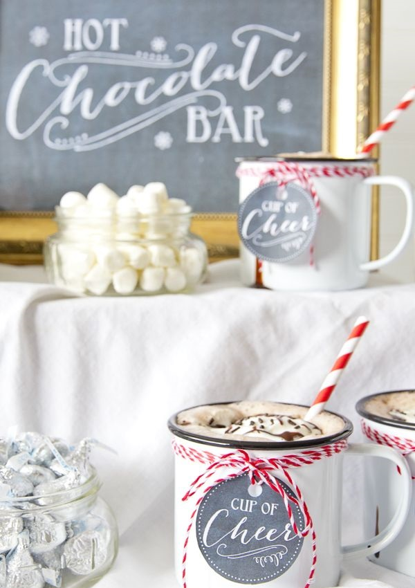 Hot Chocolate & Holiday Cookie Party