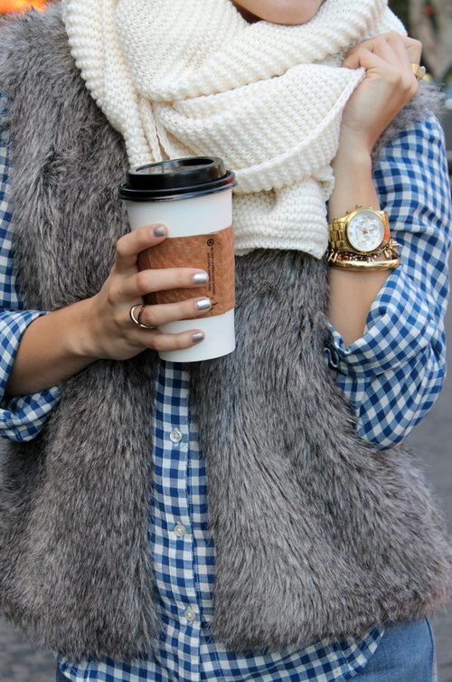 Gingham and Fur