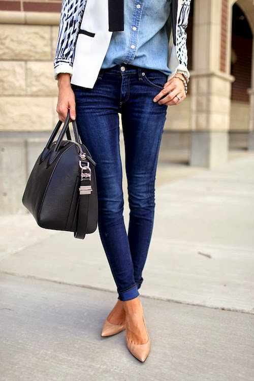 Pointy-toed Pumps and Skinny Jeans