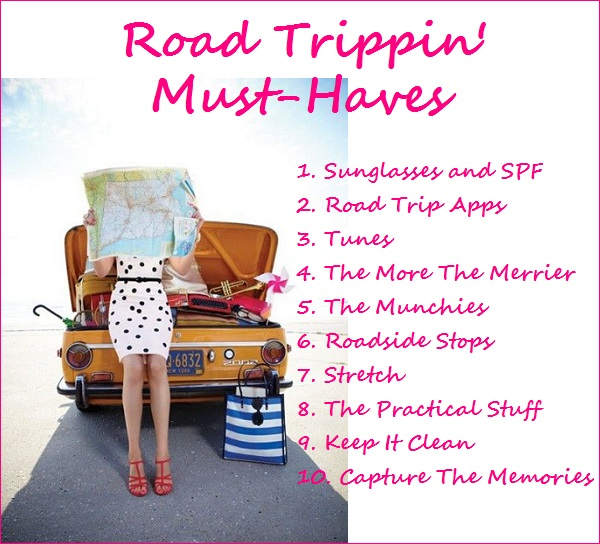 Road Trippin' Must-Haves