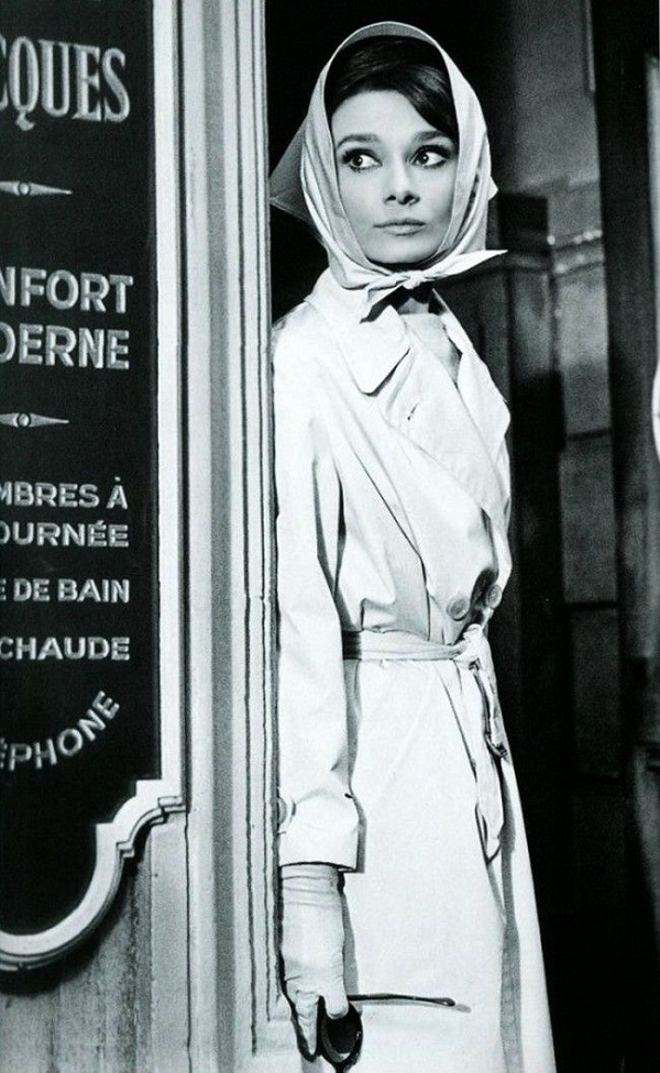 The Art Of The Classic Trench Coat - Breakfast At Tiffany's