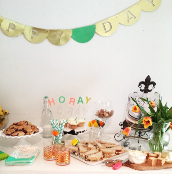 The Best Recipes & Decorations For An Afternoon Party