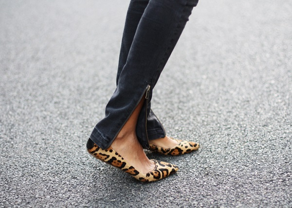 Leopard Ballet Flats - My Favorite Shoes