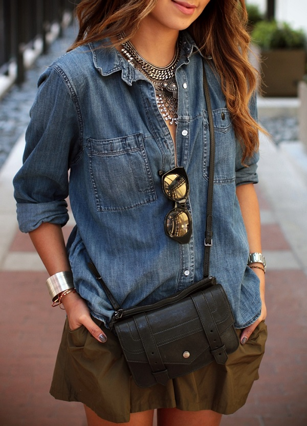 The Best Summertime Linen & Chambray Top