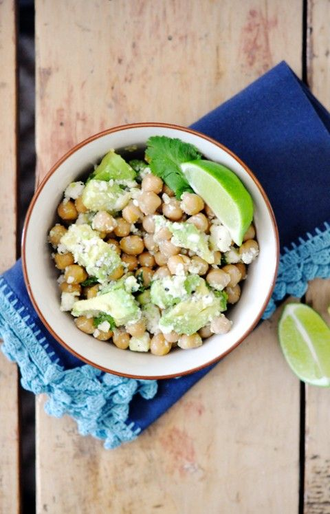10 Minute Meal | Chick Pea Salad