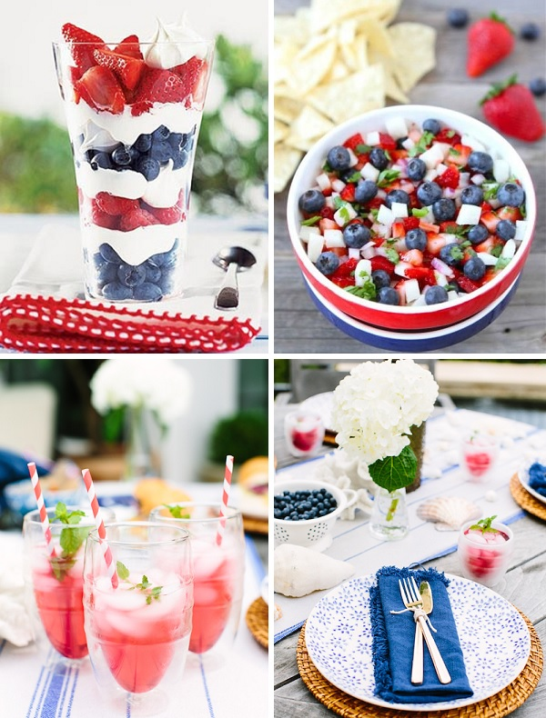 Fourth of july party foods ideas for July 4th food ideas
