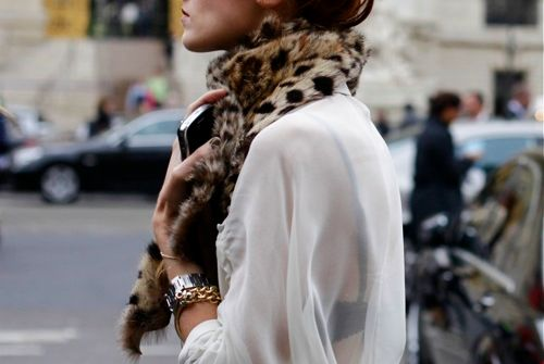 Transitional Style | Leopard Scarf