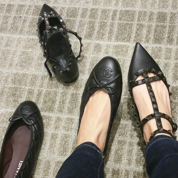 Chanel vs Valentino