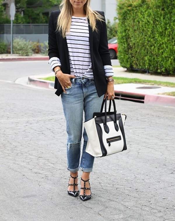 Striped | Transitional Style