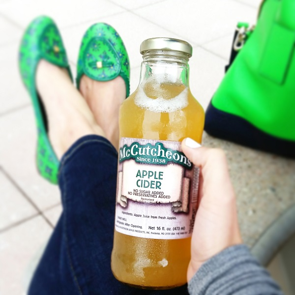 Apple Cider for fall + Tory Burch & Kate Spade