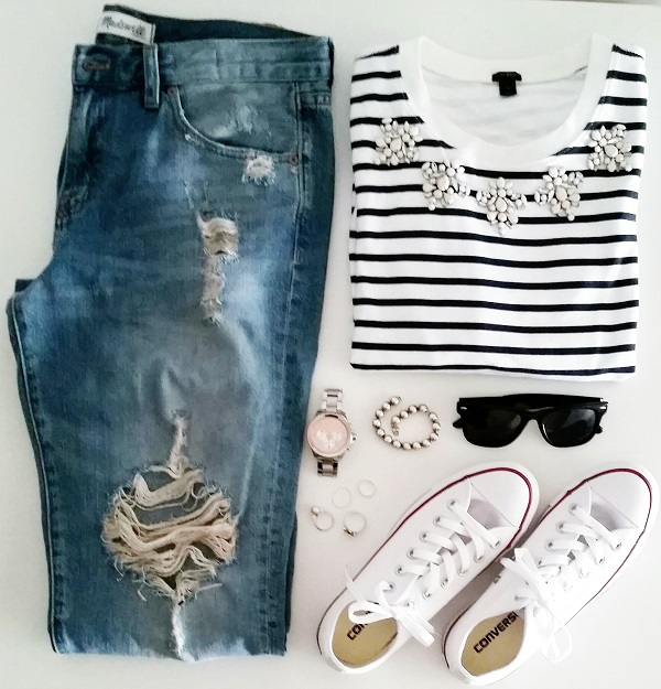Outfit Of The Day - Converse Sneakers
