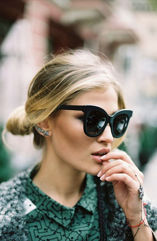 Wednesday Wishes | Oversized Sunglasses