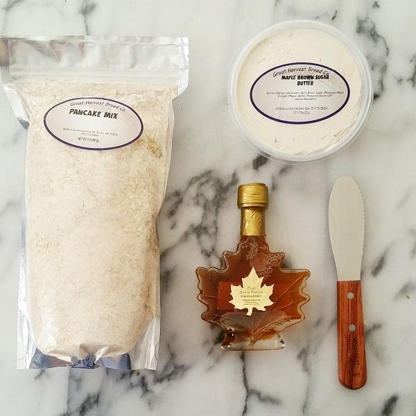 Pancake Mix & maple syrup