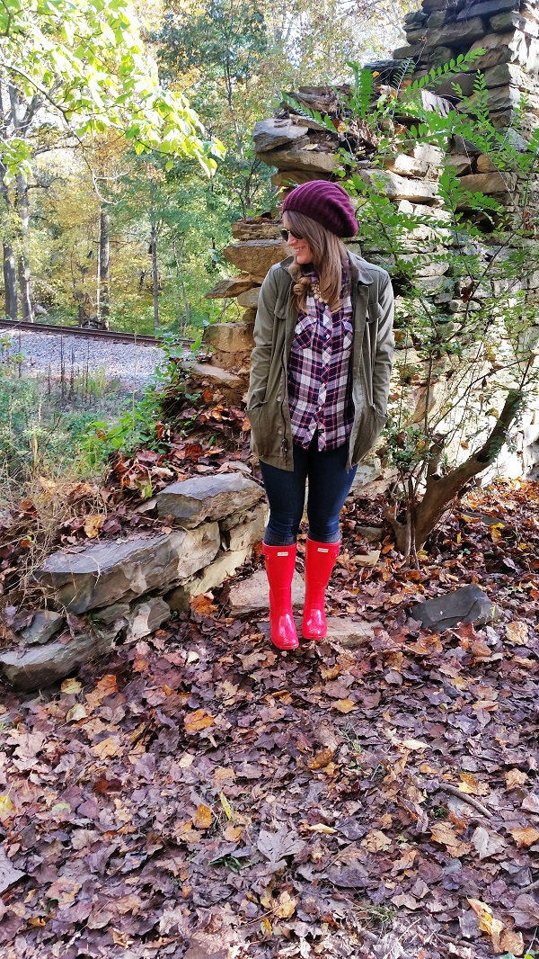 Autumn Hike | Hunter Rain Boots