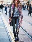 How To | Transition Your Tartan Scarf Into January