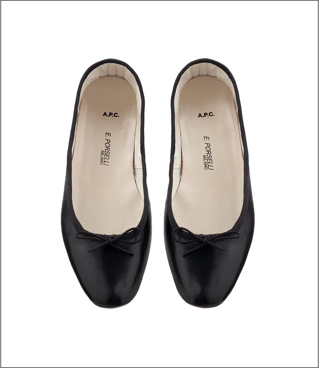 The Perfect Ballet Shoe | E. Porselli Ballet Flats