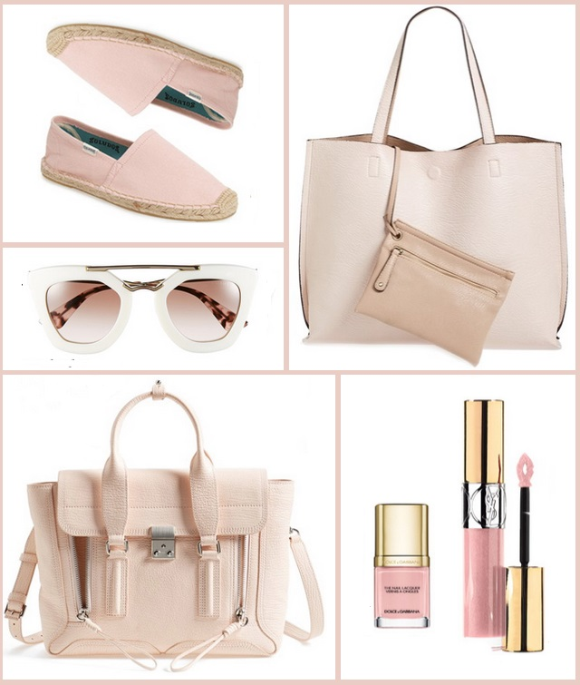 Wednesday Wishes: Blush Pink Accessories