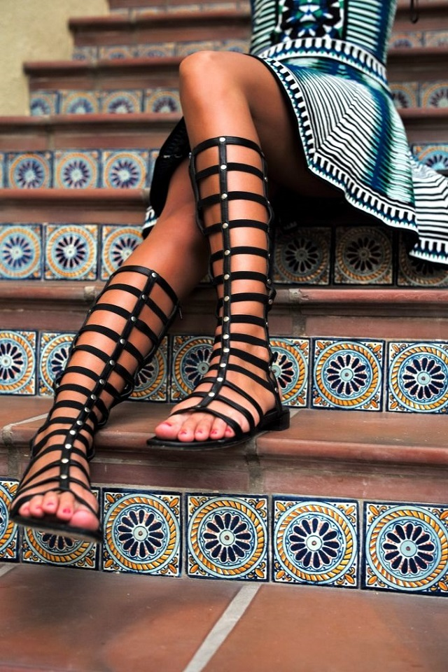 The IT Sandals of 2015: Gladiator Sandals