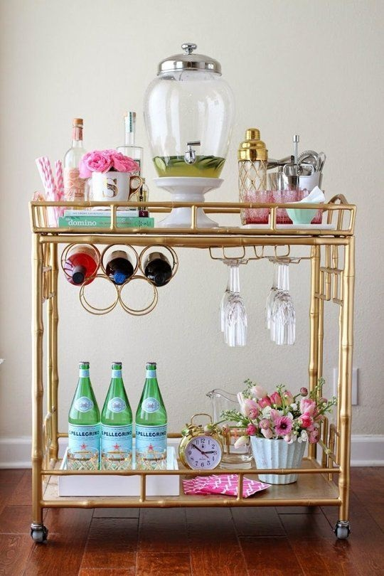 Home Sweet Chateau No. 4 {Bar Cart Searching}