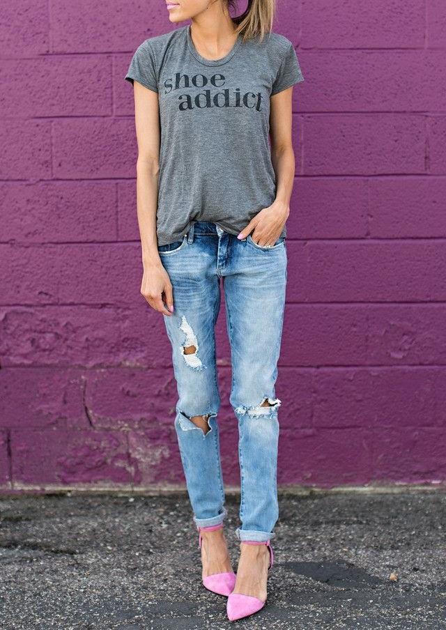 Style Dilemma: Slim Boyfriend Jeans