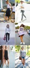 Chic Sneaker Styling