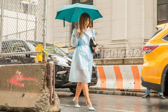 NYFW Spring 2016 Rain