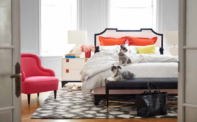 kate spade home collection bedroom
