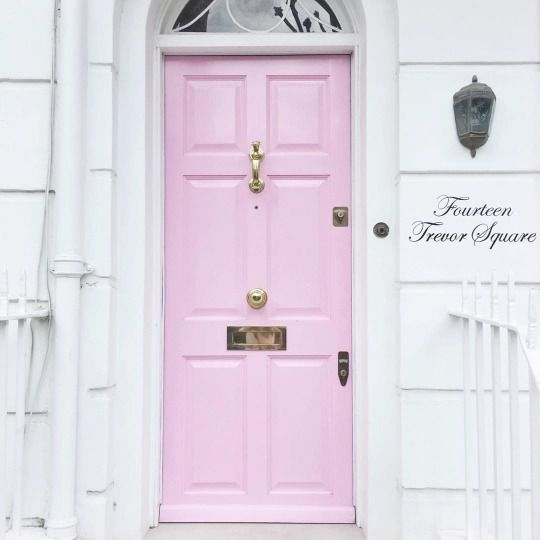pink perfect door