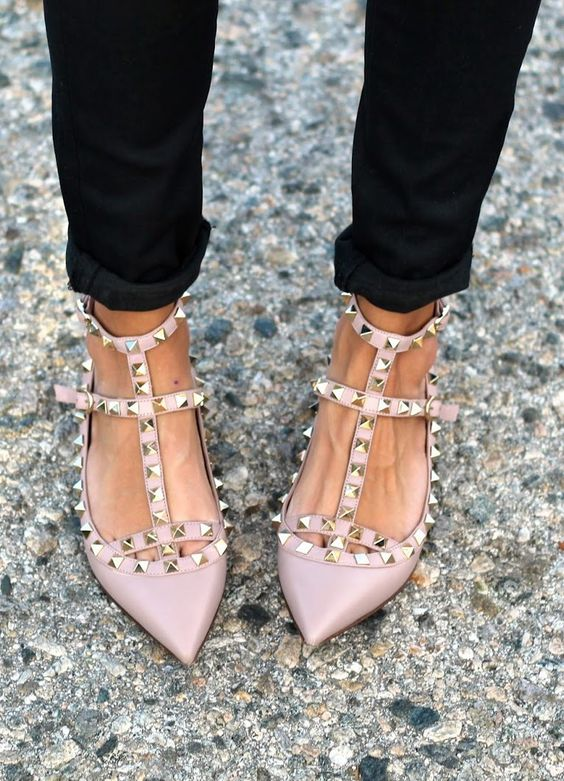 shoes valentino rockstuds